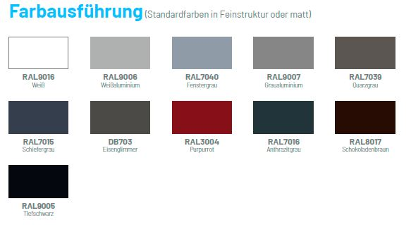 Farbausf-hrungenlager