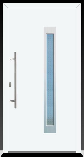 512 Aluminiumhaustür eFD innen & außen Ral 9016