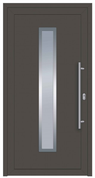 S001 Linie_Speed Aluminiumhaustür beidseitig DB703