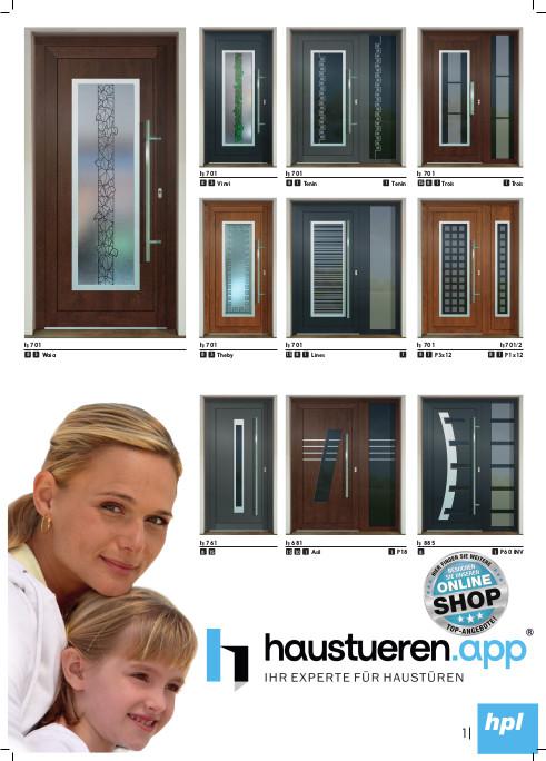 HPL Haustüren